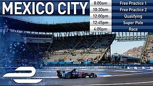 Наживо: кваліфікація та гонка е-Прі Мехіко