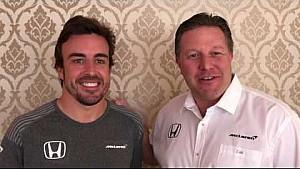 McLaren met Alonso naar Indy 500