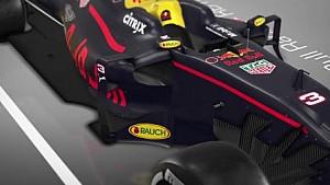 红牛RB13赛车技术分析