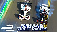 Dragon teammate rivalry! - Formula E: street racers - full episode
