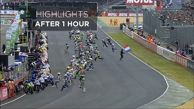 24 Hours of Le Mans - Moto - Highlights after 1 hour