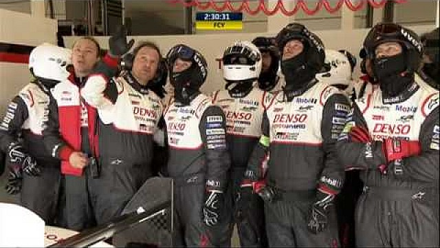 6 Hours of Silverstone - Toyota #7 crash