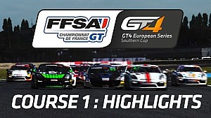 GT4 European Series Southern Cup - Course 1 highlights
