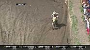 MXGP de Trentino MX2 carrera 1 Jeremy Seewer error en la última vuelta