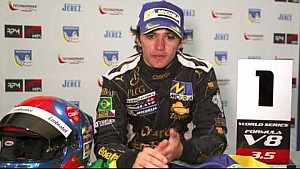 Pietro Fittipaldi after Silverstone