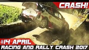 Compilación de choque Rally y Race de la semana 14 de abril de 2017