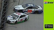 David Ragan and Danica Patrick make contact