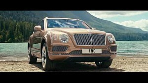 Launch film - The landing | Bentley Bentayga