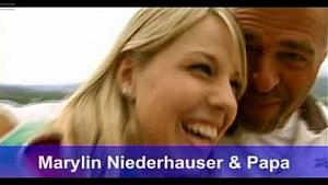 Marylin Niederhauser e il Papà