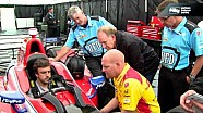 Fernando Alonso visits Indycar & Andretti Autosport
