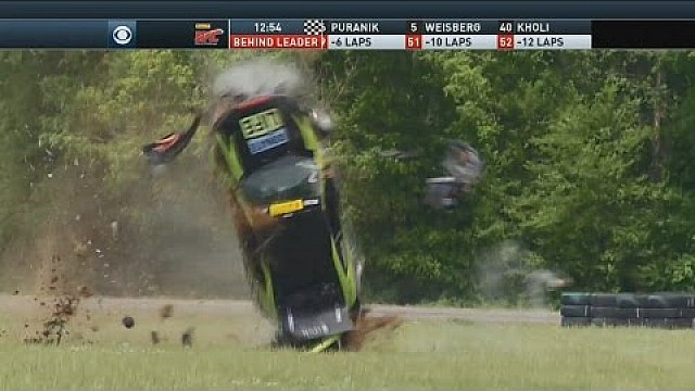Gran accidente de Jason Fichter - Pirelli World Challenge VIR