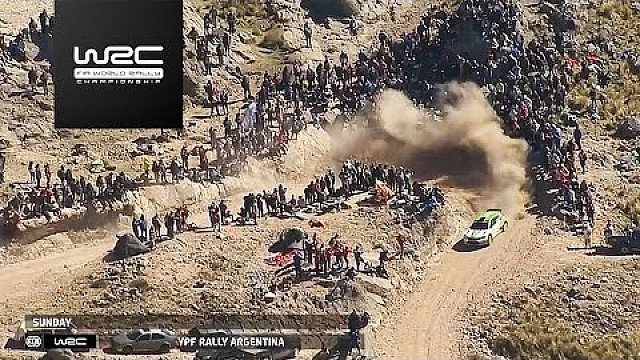 Rallye Argentinien: Highlights, WRC 2