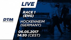 Live: Race 1 - DTM Hockenheim 2017