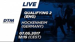 Наживо: Кваліфікація (Race 2) - DTM Хоккенхайм 2017