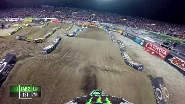 Adam Cianciarulo main event 2017 Monster Energy Supercross from Las vegas