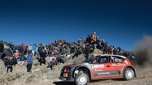Rallye Argentinien: Highlights, Citroen