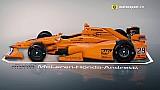 Animasi 3D mobil IndyCar Alonso