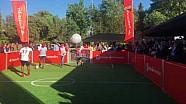 Santander Challenge: Kimi Raikkonen/Christian Karembeu VS Marc Gene/Marcos Senna