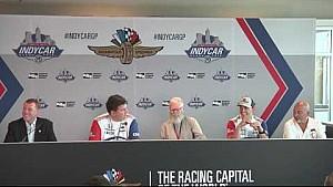 Rahal Letterman Lanigan racing news conference