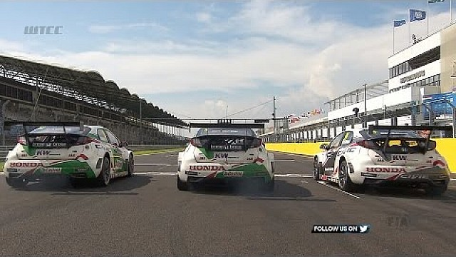 WTCC MAC3 – Honda fight back with first MAC3 win WTCC 2017 Hungaroring