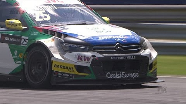 The best action from the Main race in Hungary