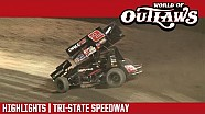 World of Outlaws Craftsman sprint cars Tri-State speedway May 14, 2017 | Highlights
