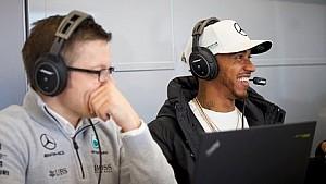 Tour de camiones de ingeniería de F1 tras bambalinas con Lewis Hamilton