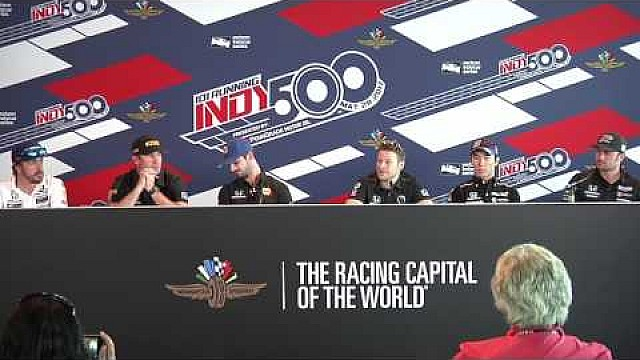 Andretti Autosport #Indy500 Day 3 news conference