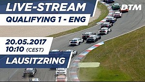 Наживо - DTM Лаузіцринг 2017 - кваліфікація до гонки 1