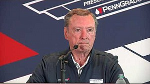 3-time #Indy500 champion Johnny Rutherford news conference