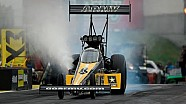 Tony Schumacher takes the No. 1 spot with the second quickest pass in NHRA history