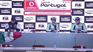 Rally de Portugal 2017: WRC 2 Post-Event press conference