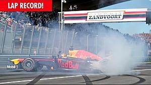 Max Verstappen bat le record du tour à Zandvoort !