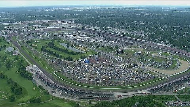 Indy 500: Highlights, Rennen