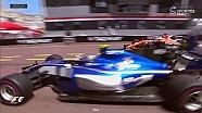 2017 Monaco GP  - Wehrlein Button'a Pit Çıkışı Tehlikeli Anlar Yaşatıyor
