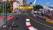 2017 Monaco GP  - Ericsson Yarış Dışı Kalıyor