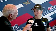HPD Trackside -- Sebastien Bourdais return to IMS
