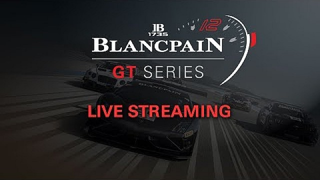 Live: Qualifying race - Zolder 2017 - Blancpain Sprint Series