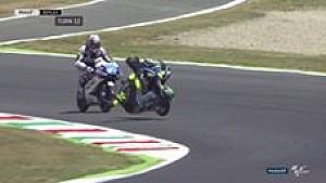 Kecelakaan Nicolo Bulega di Moto3 Mugello