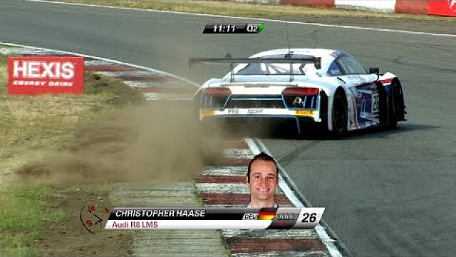 Save of the day - Audi R8 GT3 - Christopher Haase