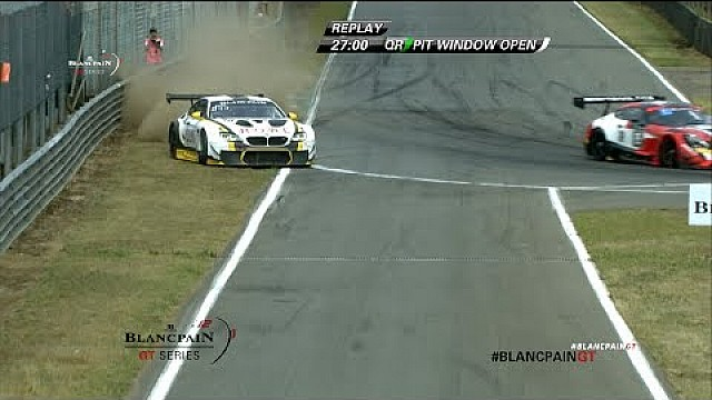 Save of the day 2 - BMW M6 GT3 - Jesse Krohn