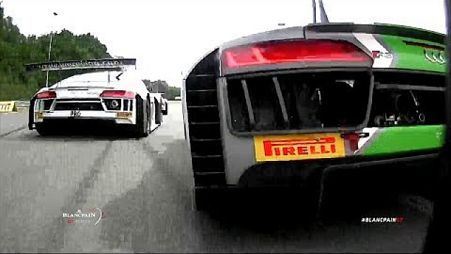 More on-board action - Blancpain GT series