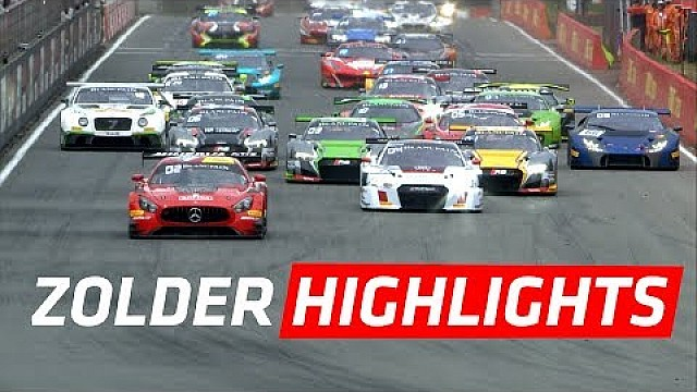 Short highlights - Main race - Zolder - Blancpain GT series Sprint Cup 2017