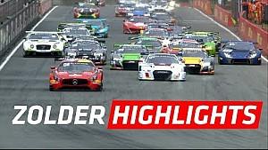 Kısa özet - Ana Yarış - Zolder - Blancpain GT series Sprint Cup 2017