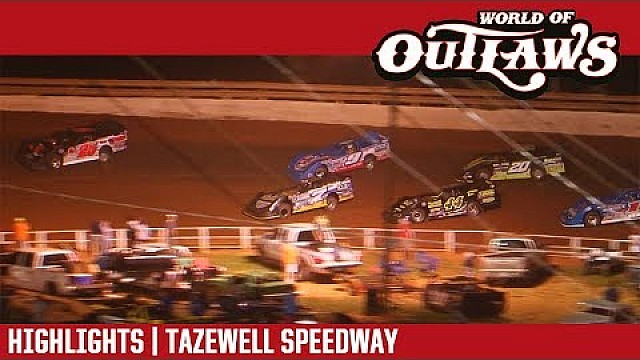 World Of Outlaws Craftsman Late Models Tazewell Speedway June 2