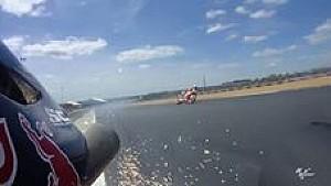 Kecelakaan Marc Marquez di Le Mans 2017