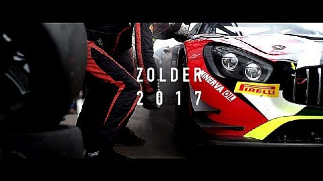 Action from Zolder - Blancpain GT Series 2017