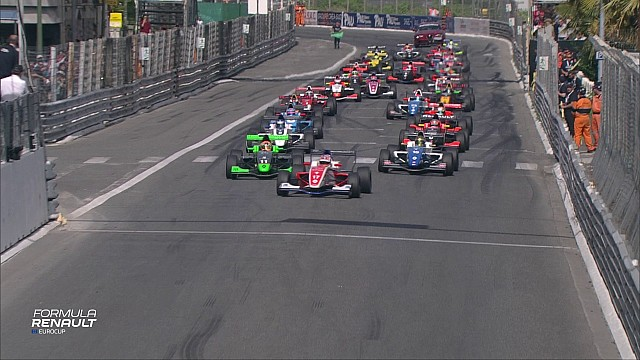 Formula Renault Eurocup : Highlights Course 2 - Pau (2017)