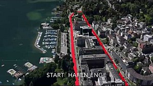 Il tracciato della Formula E a Zurigo?