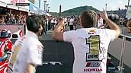 Marc Marquez rayakan gelar Juara Dunia MotoGP 2016 di paddock